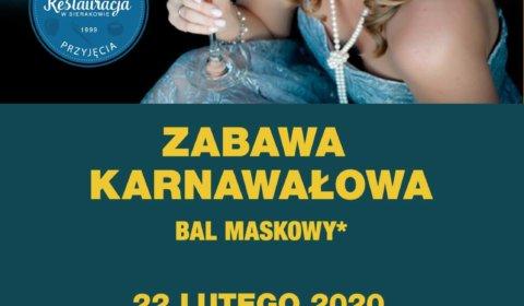 Zabawa Karnawałowa w Hotelu KAMA PARK w Sierakowie